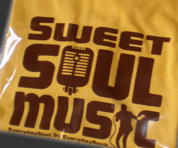 Sweet Soul Music EverydayRock T Shirt