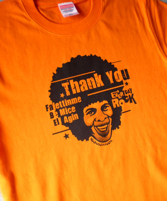 Sly Stone EverydayRock T Shirt Caricature