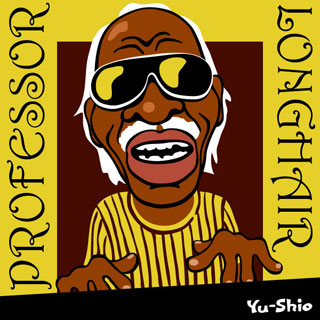 Professor Longhair caricature
