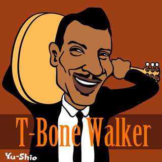 T-Bone Walker Caricature