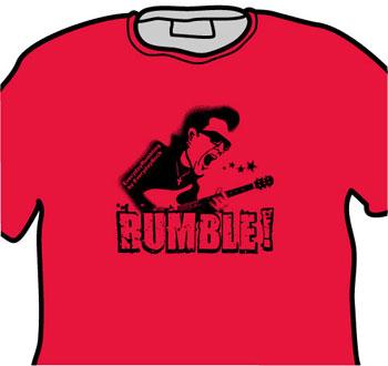 Link Wray EverydayRock T Shirt