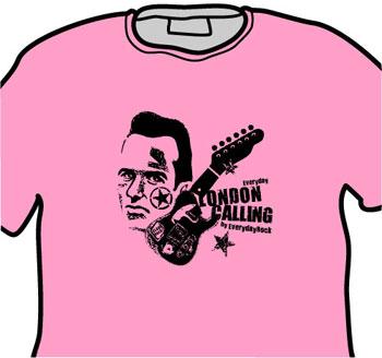 Joe Strummer Clash EverydayRock T Shirt