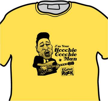 Muddy Waters EverydayRock T Shirt