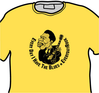 B.B. King EverydayRock T Shirt