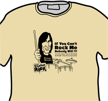Charlie Watts Rolling Stones EverydayRock T Shirt