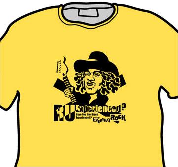 Jimi Hendrix EverydayRock T Shirt