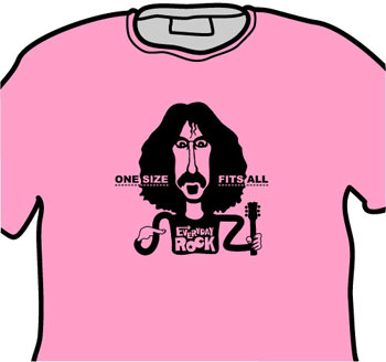 Frank Zappa EverydayRock T Shirt