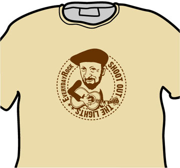 Richard Thompson EverydayRock T Shirt