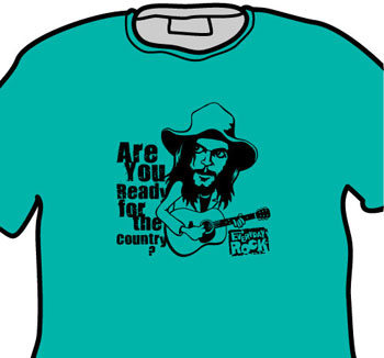 Neil Young EverydayRock T Shirt Caricature