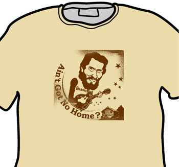 Levon Helm EverydayRock T Shirt Caricature