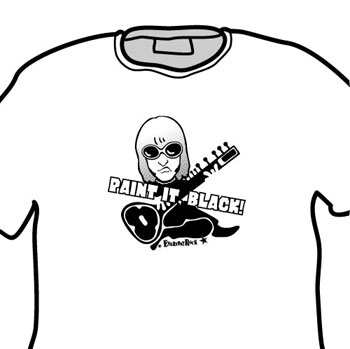 Brian Jones Rolling Stones EverydayRock T Shirt Caricature