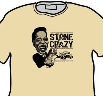 Buddy Guy EverydayRock T Shirt Caricature