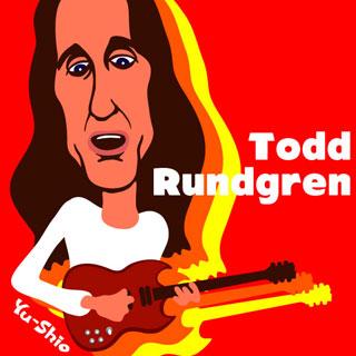 Todd Rundgren caricature