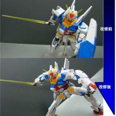 GPB-X80改修後比較_ポーズ