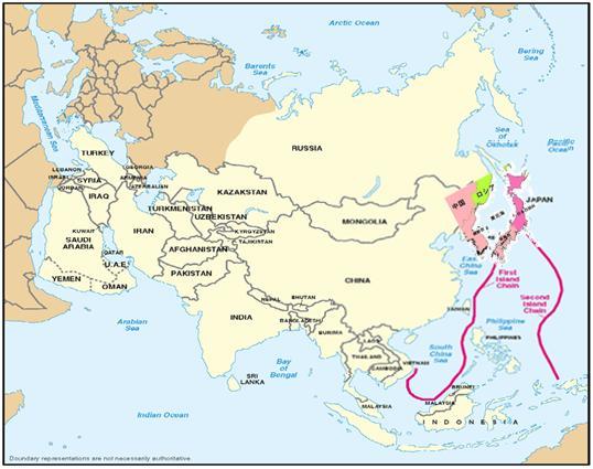 2010 08 第一列島線と第二列島線