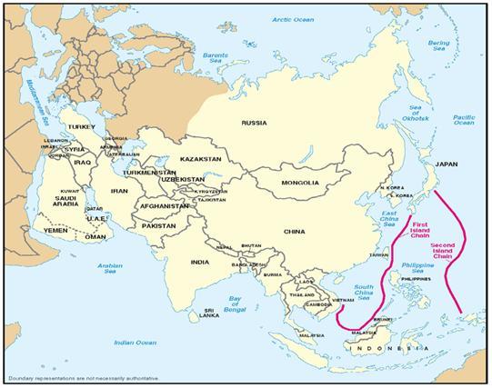 2010 08 第一列島線と第二列島線 1