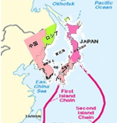 2010 08 .第一列島線と第二列島線 3jpg
