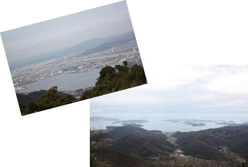 金甲山からの眺め