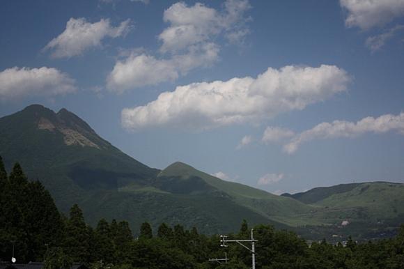 湯布院の山