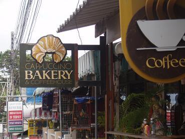 タイ|タオ島|喫茶店|パン屋さん