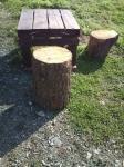 廃材テーブル2