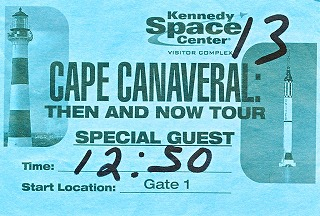 Cape Canaveral Then and Now Tour