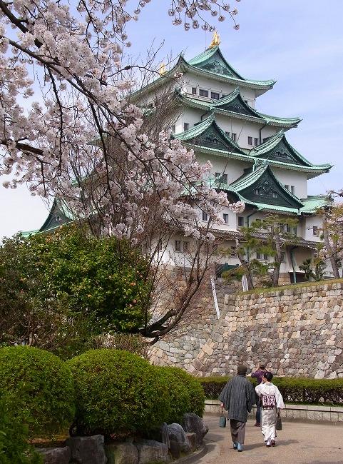名古屋城の桜-2