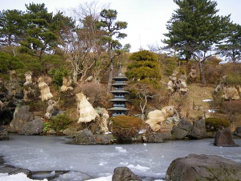 能代公園氷