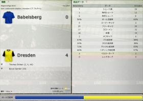 Babelsberg 対 Dresden