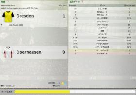 Dresden 対 Oberhausen
