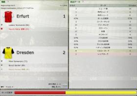 Erfurt 対 Dresden