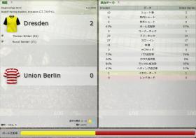 Dresden 対 Union Berlin