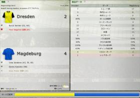 Dresden 対 Magdeburg