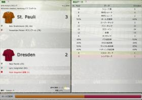 St. Pauli 対 Dresden
