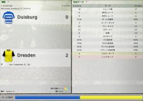 Duisburg 対 Dresden