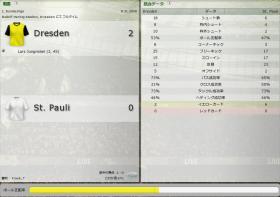 Dresden 対 St. Pauli