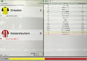 Dresden 対 Kaiserslautern