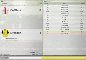 Cottbus 対 Dresden
