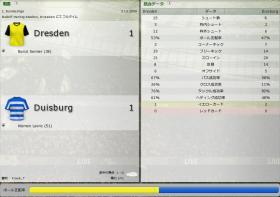 Dresden 対 Duisburg