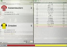 Kaiserslautern 対 Dresden