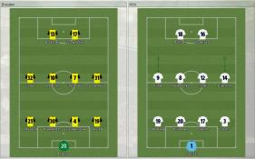 Dresden 対 HSV