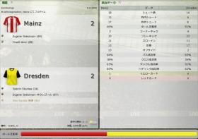 Mainz 対 Dresden