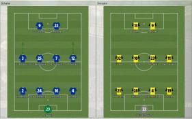 Schalke 対 Dresden
