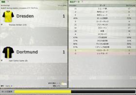 Dresden 対 Dortmund