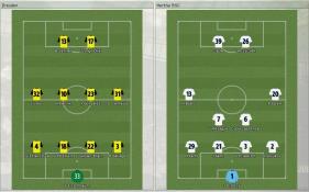 Dresden 対 Hertha BSC