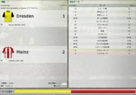 Dresden 対 Mainz
