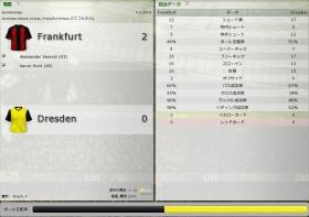 Frankfurt 対 Dresden