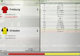 Freiburg 対 Dresden