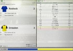 Rostock 対 Dresden