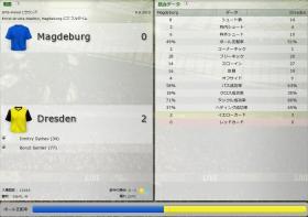 Magdeburg 対 Dresden